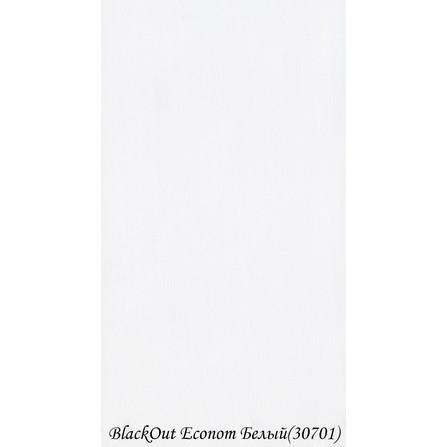 Готові Рулонні Штори BlackOut Econom 3.07.01 Білий