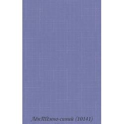 Рулонные Шторы Лён 1.01.41 Тёмно-Синий