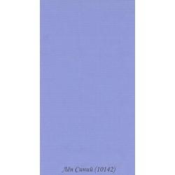 Рулонні Штори Льон 1.01.42 Синій