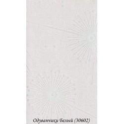 Рулонні Штори Кульбаби 3.06.02 Білі