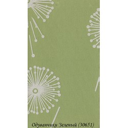 Рулонные Шторы Одуванчики 3.06.51 Зеленые