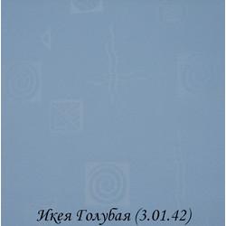 Рулонная Штора Икея 3.01.42 Голубая
